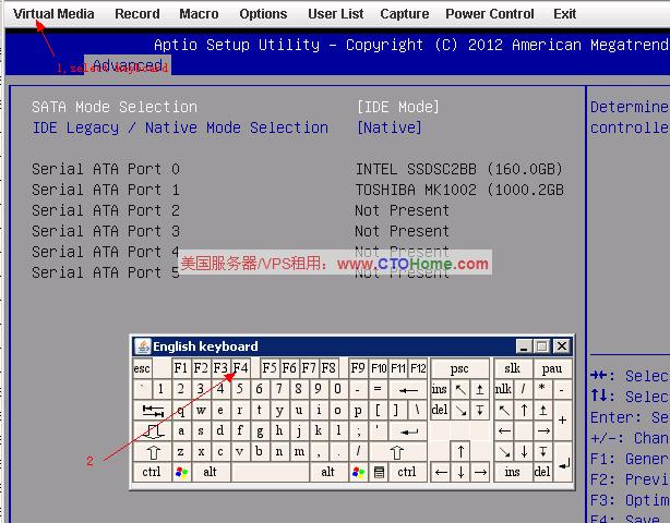 如何使用IPMI/KVM/IKVM安装windows 2003/2008/2012操作系统